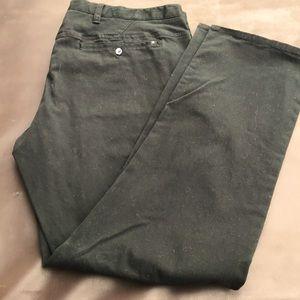 Hurley x Nike Black Flat Front Chino Pants Size 36